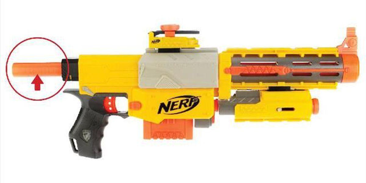 Police warn residents about Nerf gun wars