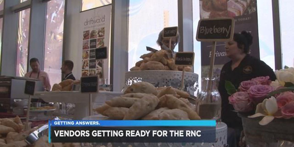 Vendors showcase work to potential RNC clients