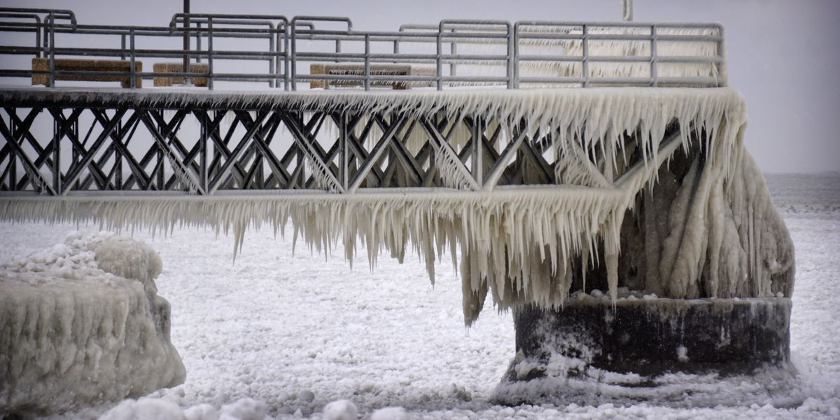 Incredible video shows thawing, shifting ice on Lake Michigan that will make for dangerous conditions on Cleveland's Lake Erie
