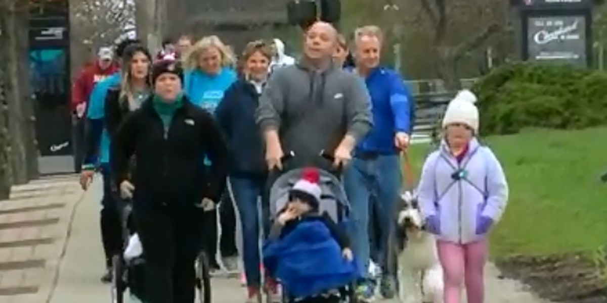 One in four Americans suffers from arthritis, walkers in Cleveland hope to find a cure