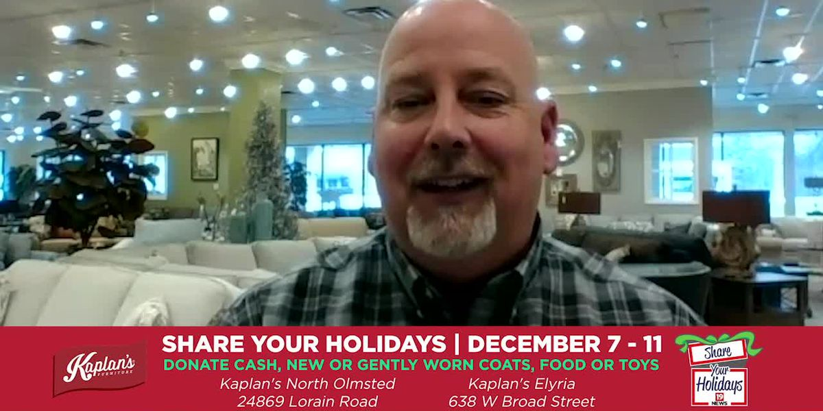 Share Your Holidays with Kaplan's Furniture
