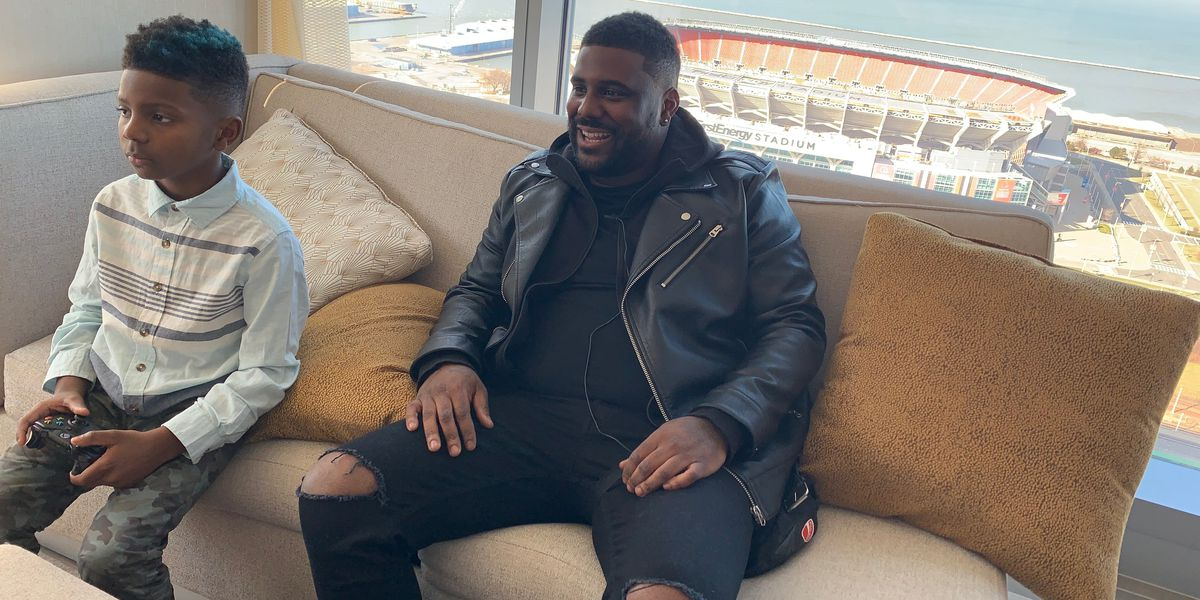 Cleveland native King Chip says being a single father is far more challenging (and important) than being a star rapper