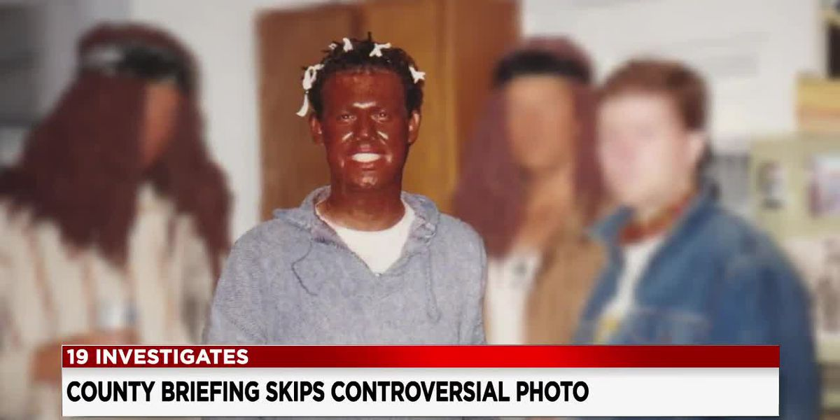 Health commissioner does not address blackface photo at county briefing