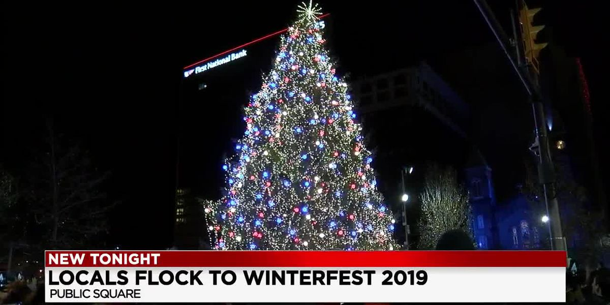 Holiday season kicks off in Cleveland with Winterfest, tree lighting and fireworks