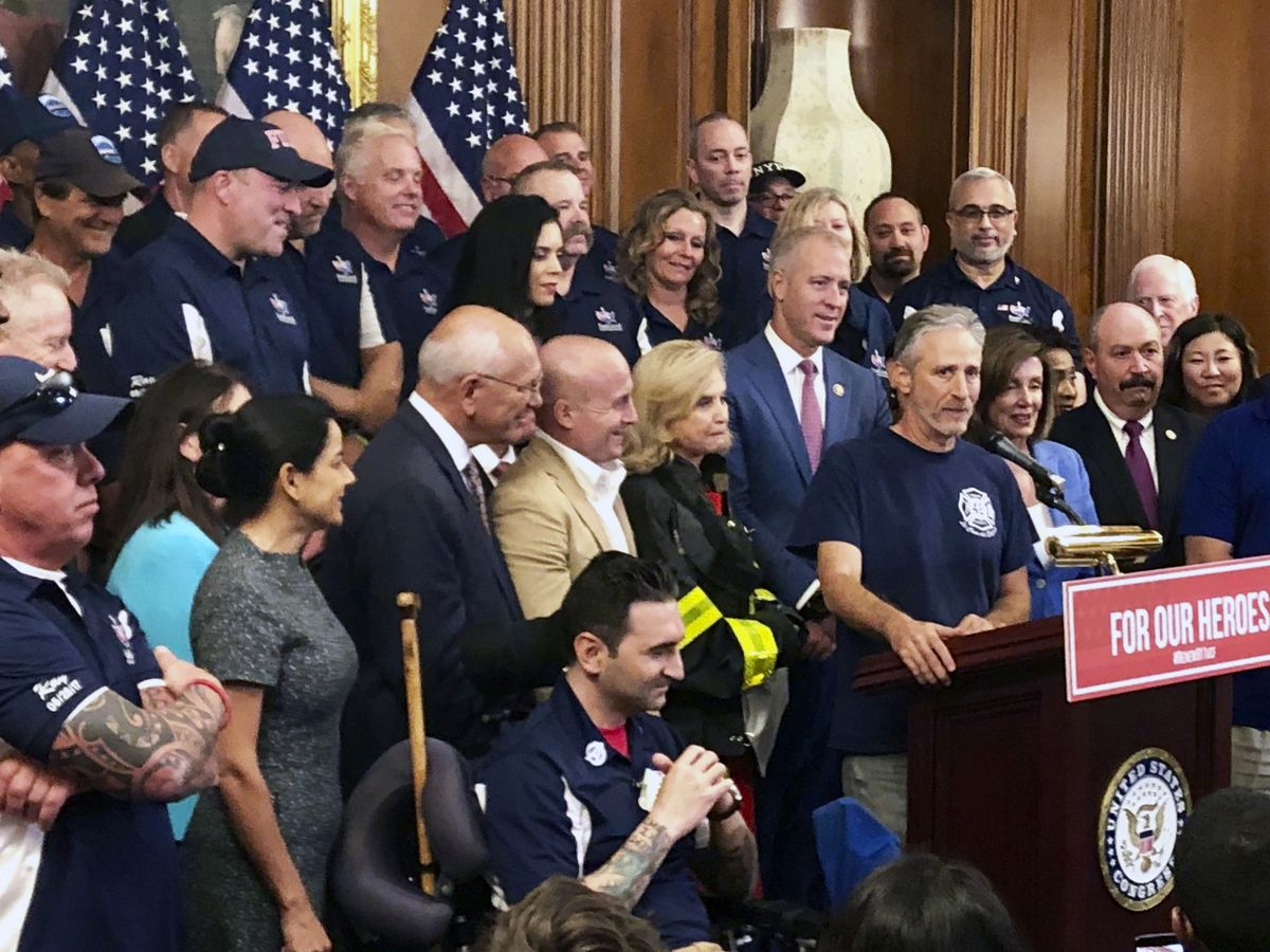 Senate approves bill to extend 9/11 victims fund