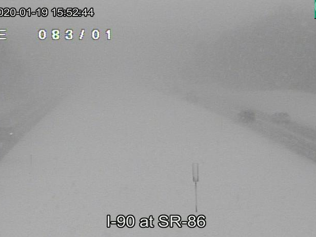 Speeds on I-90 in Lake County reduced due to heavy snowfall