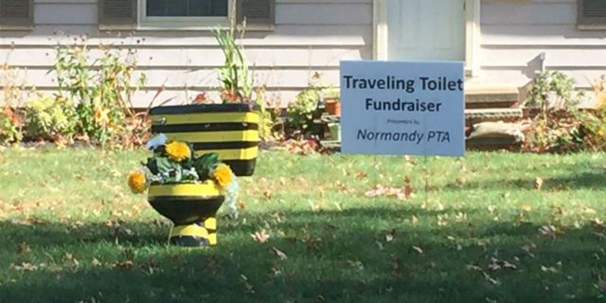 'Traveling Toilet' making the rounds in west side suburb
