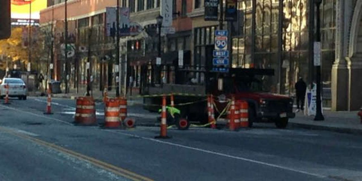 Snags slow down construction on Prospect Avenue