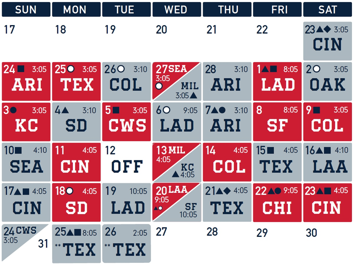 Irresistible image throughout cleveland indians printable schedule