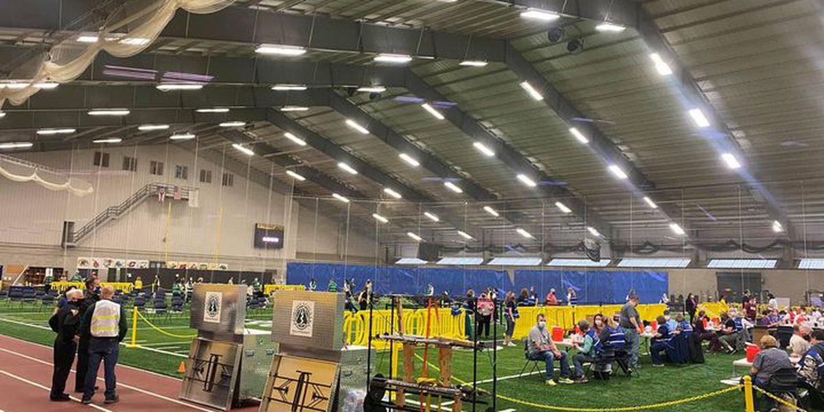 Kent State Field House hosts mass vaccine clinics Tuesdays 'for the foreseeable future'