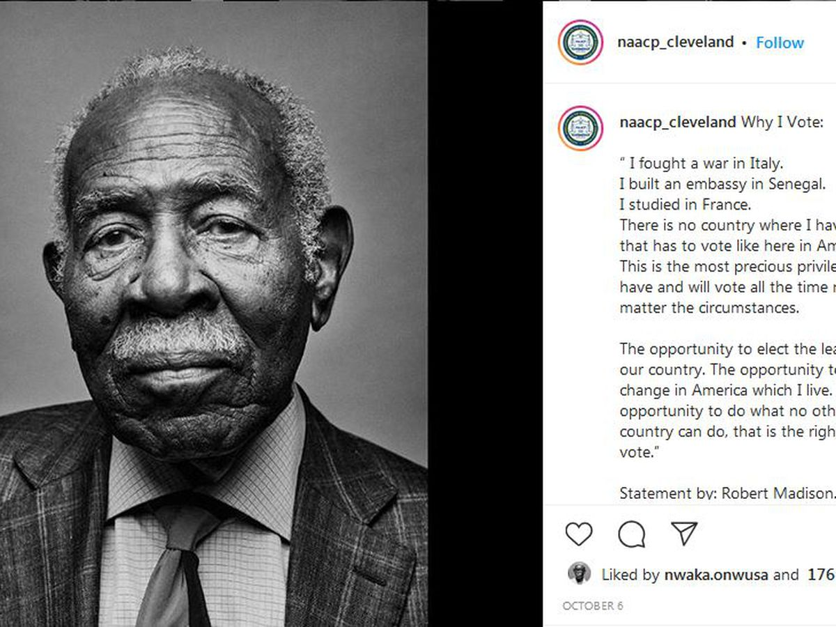 NAACP Cleveland launches #WhyIVote photo series on social media