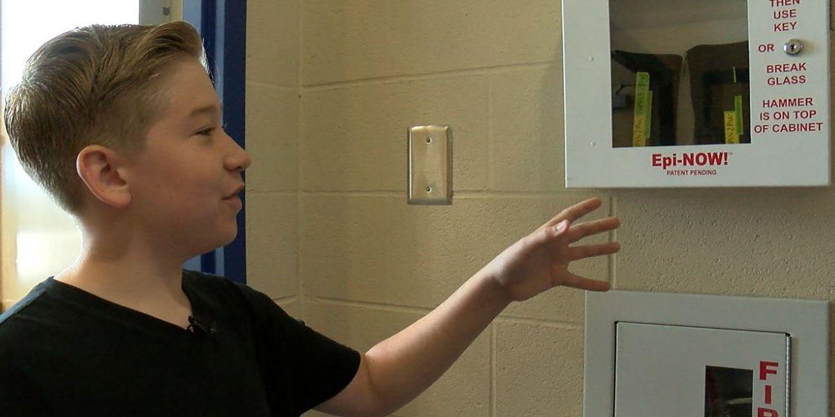 Lake County student stocks up emergency supply of lifesaving drug during nationwide shortage