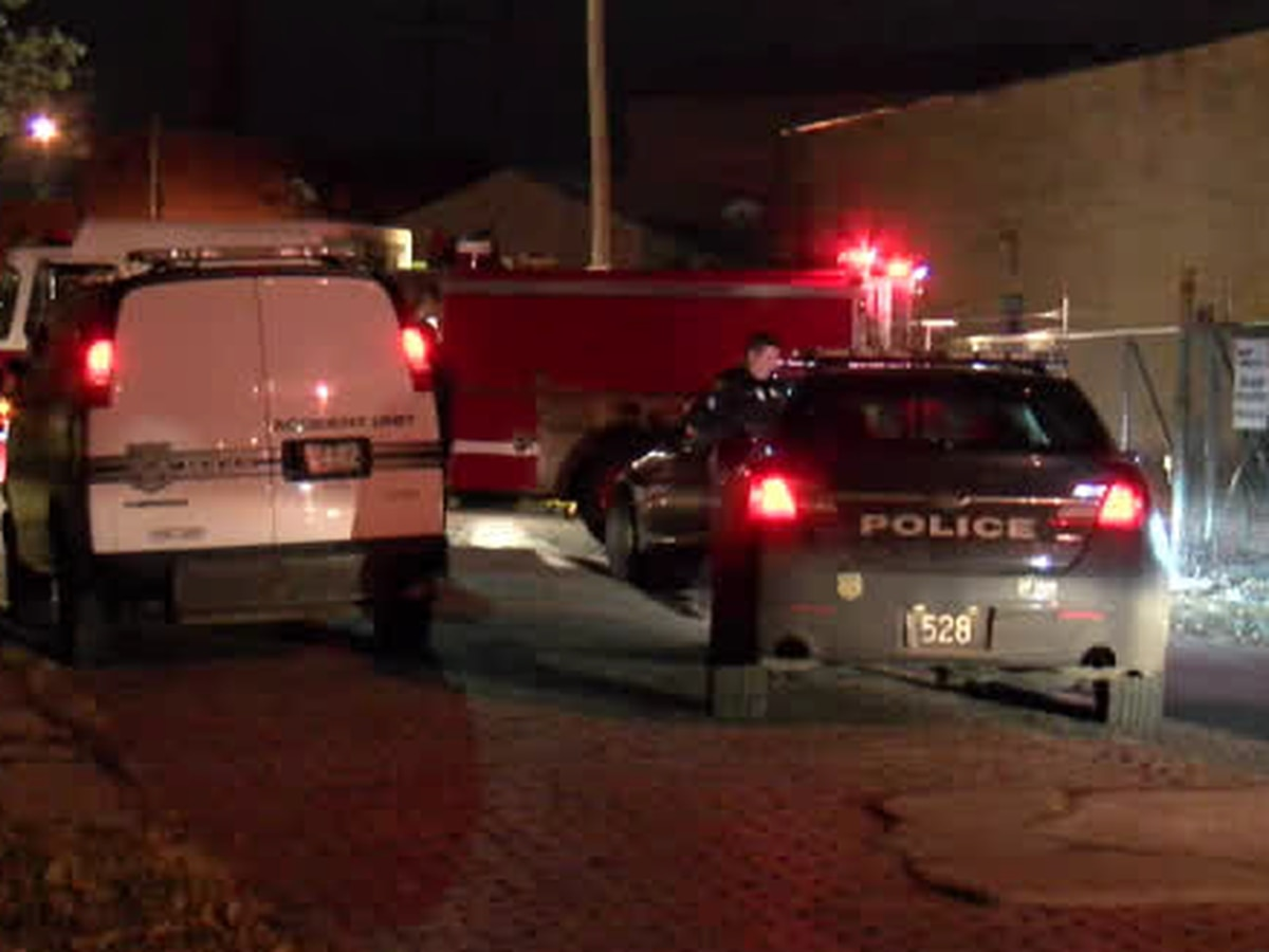 Cleveland fire truck rammed numerous times by violent driver, who is now on the loose