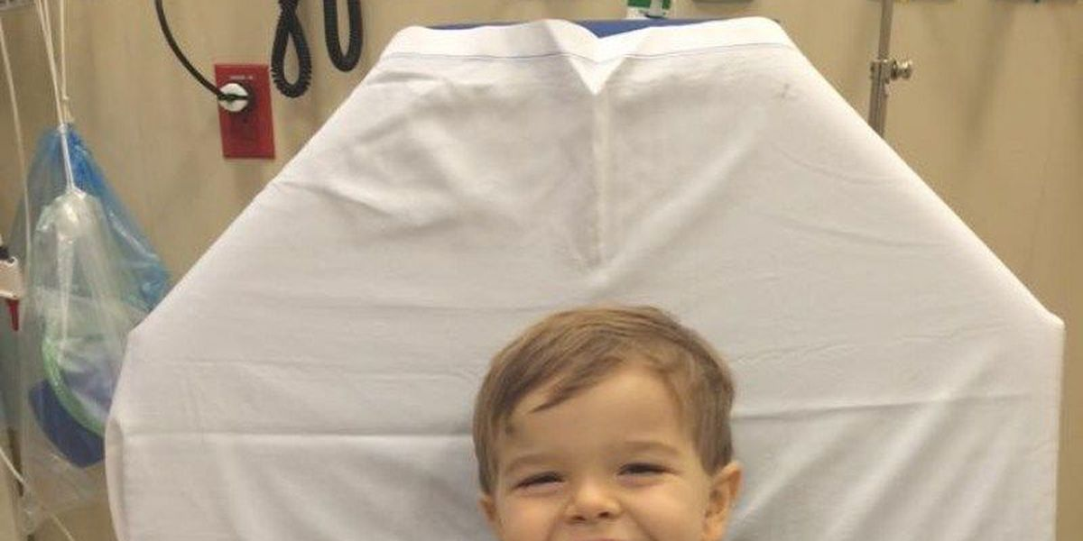 South Russell Police raising money for 3-year-old son of officer with leukemia