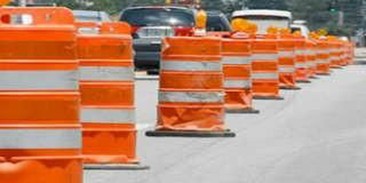 Weekend construction in Lake County could cause delays