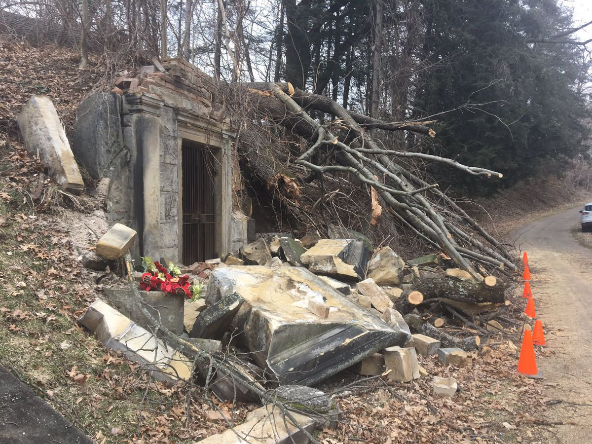 Historic Massillon Cemetery where Civil War heroes are buried ravaged by storm