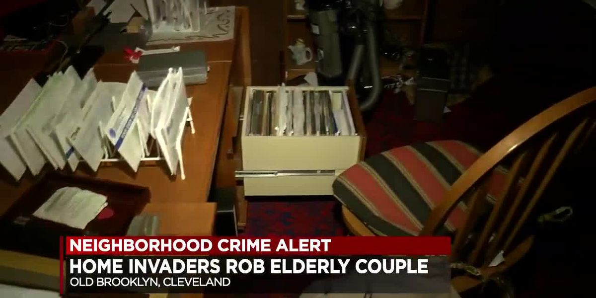 Old Brooklyn home invasion: Elderly couple robbed by men armed with assault rifle