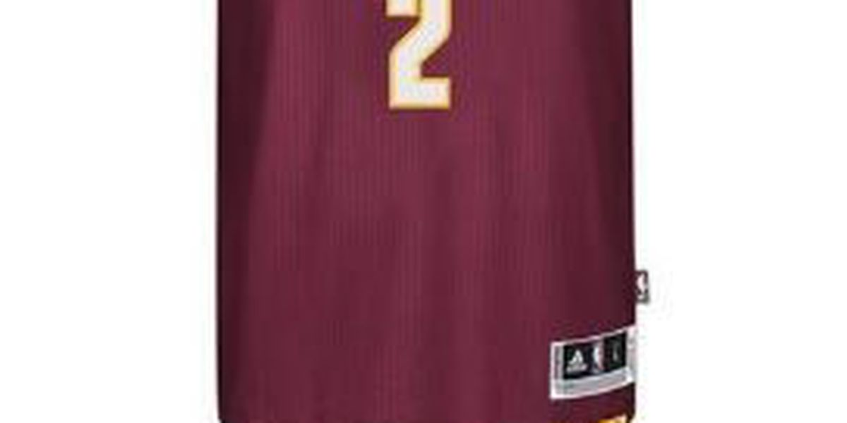Kyrie Irving merchandise selling for just dollars at Cleveland Cavaliers team shop