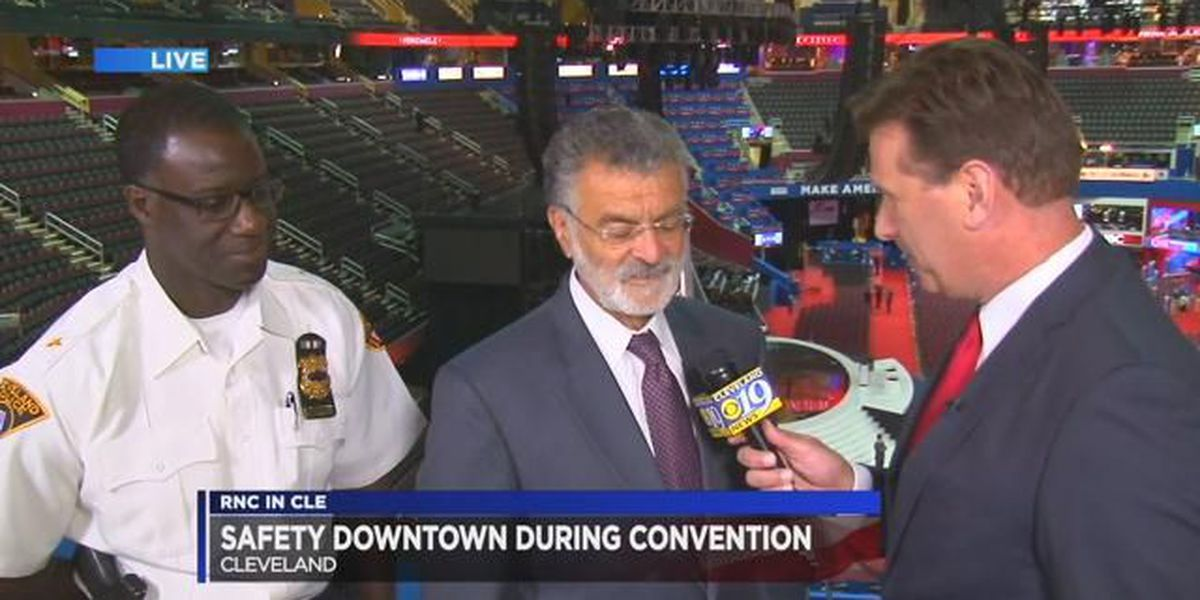 Exclusive: CLE Mayor, Chief of Police talk RNC on Cleveland 19