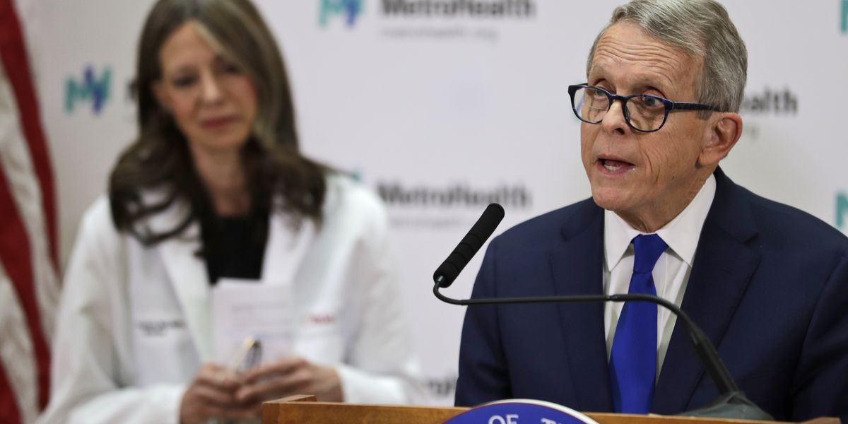 Gov. DeWine defends Dr. Amy Acton in wake of 'Hitler's Germany' comments made by wife of Ohio senator
