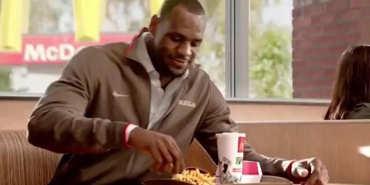 Want the Cavs to win? Better order a Big Mac, Romanburger and bacon cheeseburger