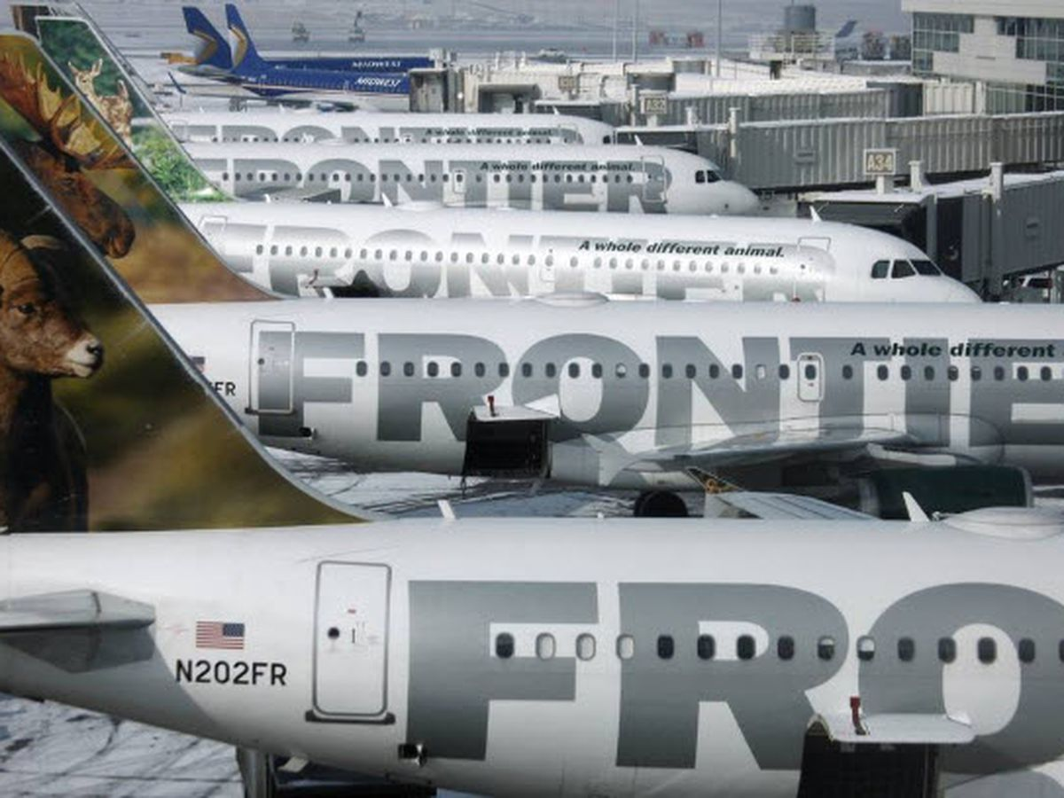 Frontier flight from Cleveland to Cancun cancelled after plastic bag flies into engine