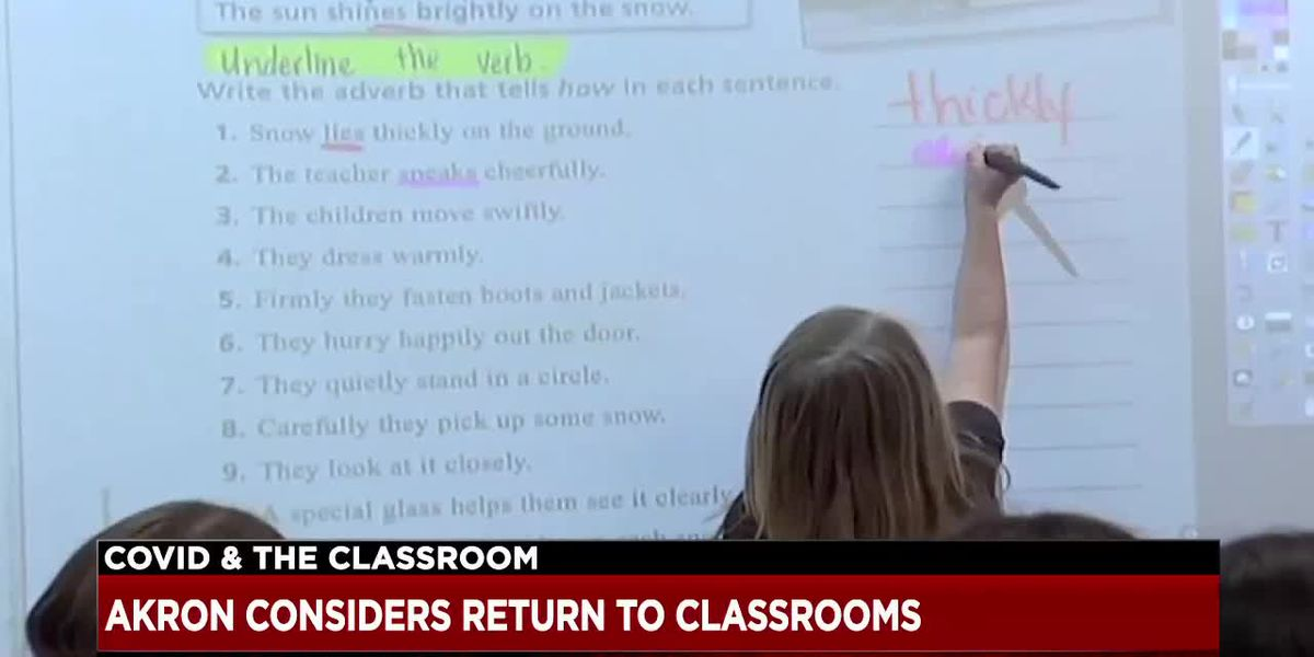 Akron Public Schools grappling with the decision to have students return to classrooms