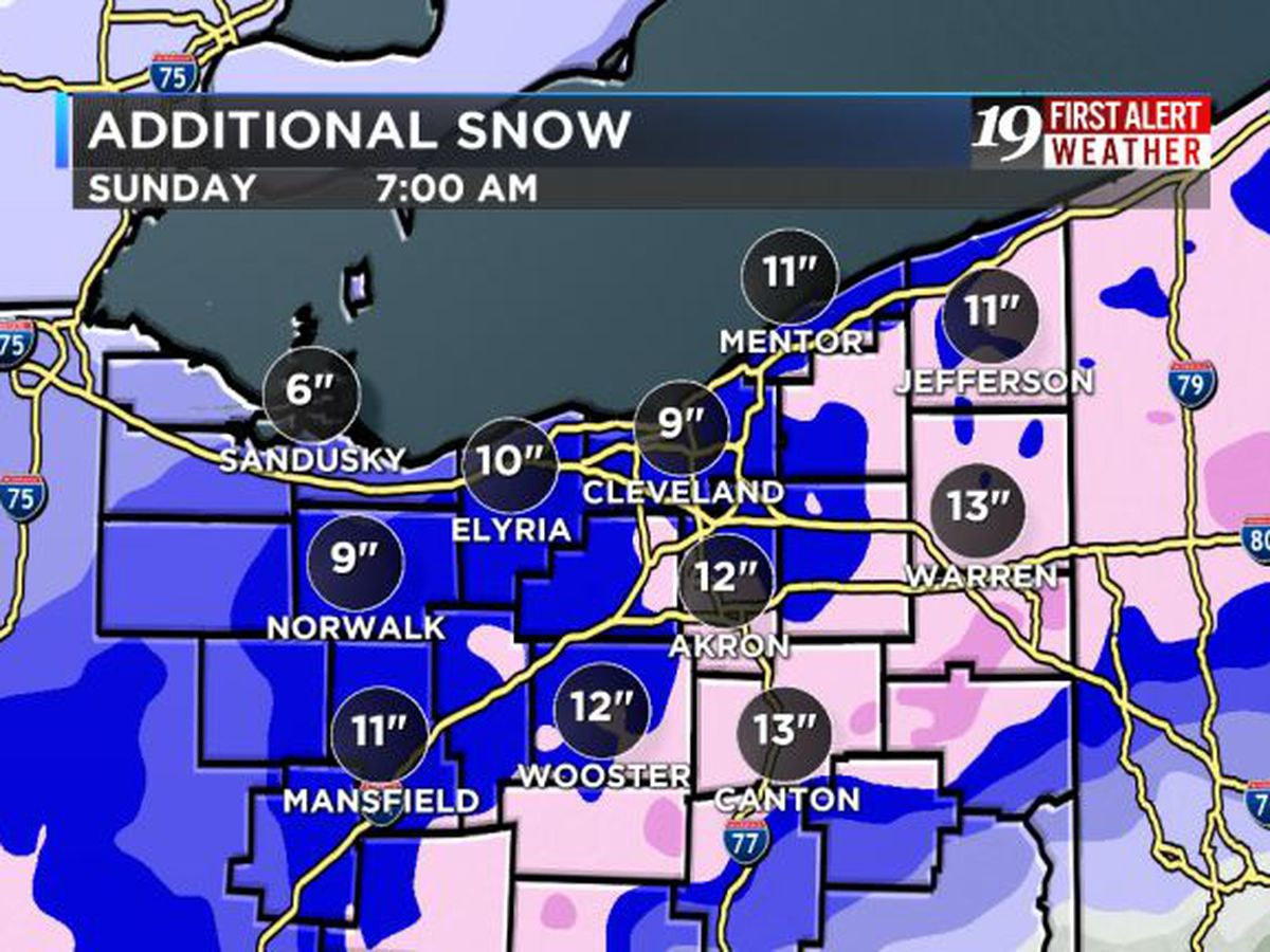 Northeast Ohio Weather: Winter storm will bring dangerous conditions overnight