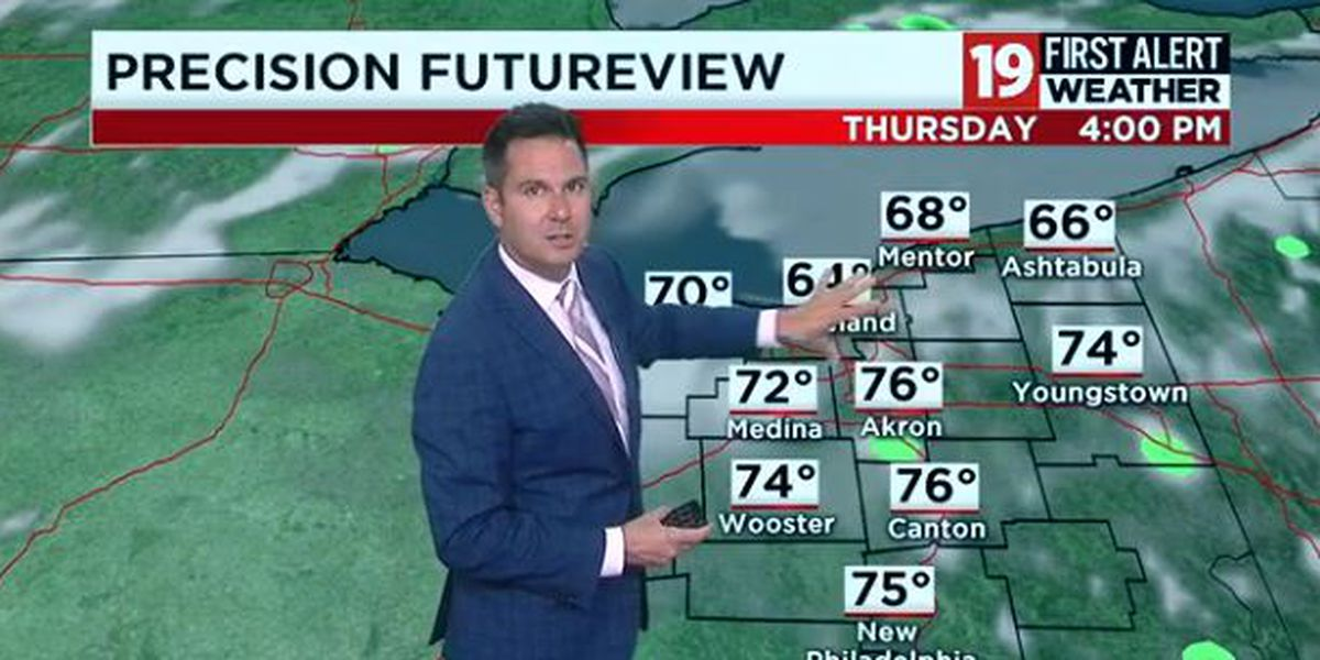 19 First Alert Weather Day: Flash flood warning issued for several Northeast Ohio counties