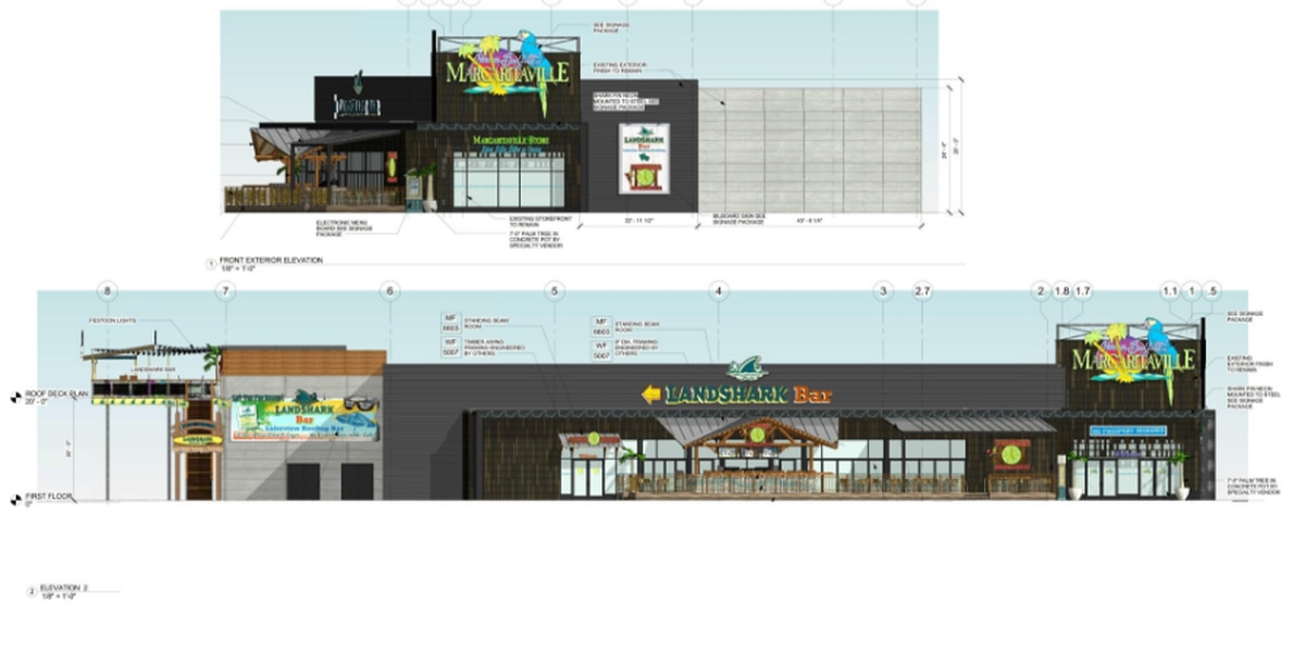 Construction starts at Margaritaville in the Flats