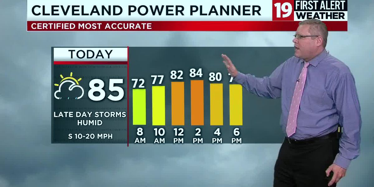 Northeast Ohio Weather: ALERT DAY for storms that could turn severe later this afternoon and tonight