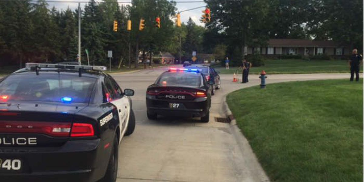Several people, including young child, struck at intersection