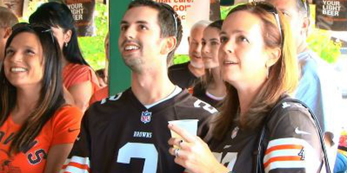 Browns fans optimistic after season's first game