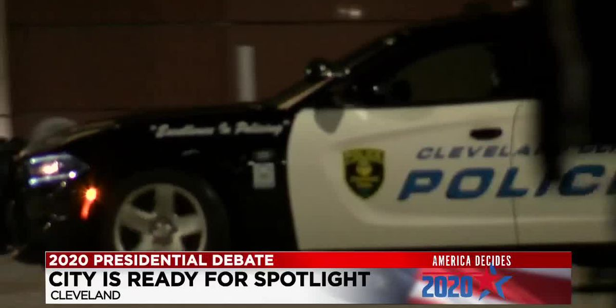 Cleveland prepares for presidential debate with ramped up security