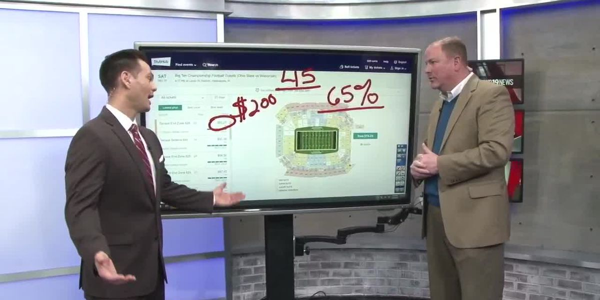 65% of tickets sold for B10 Championship game have gone to Buckeye fans, just 2% to Wisconsin