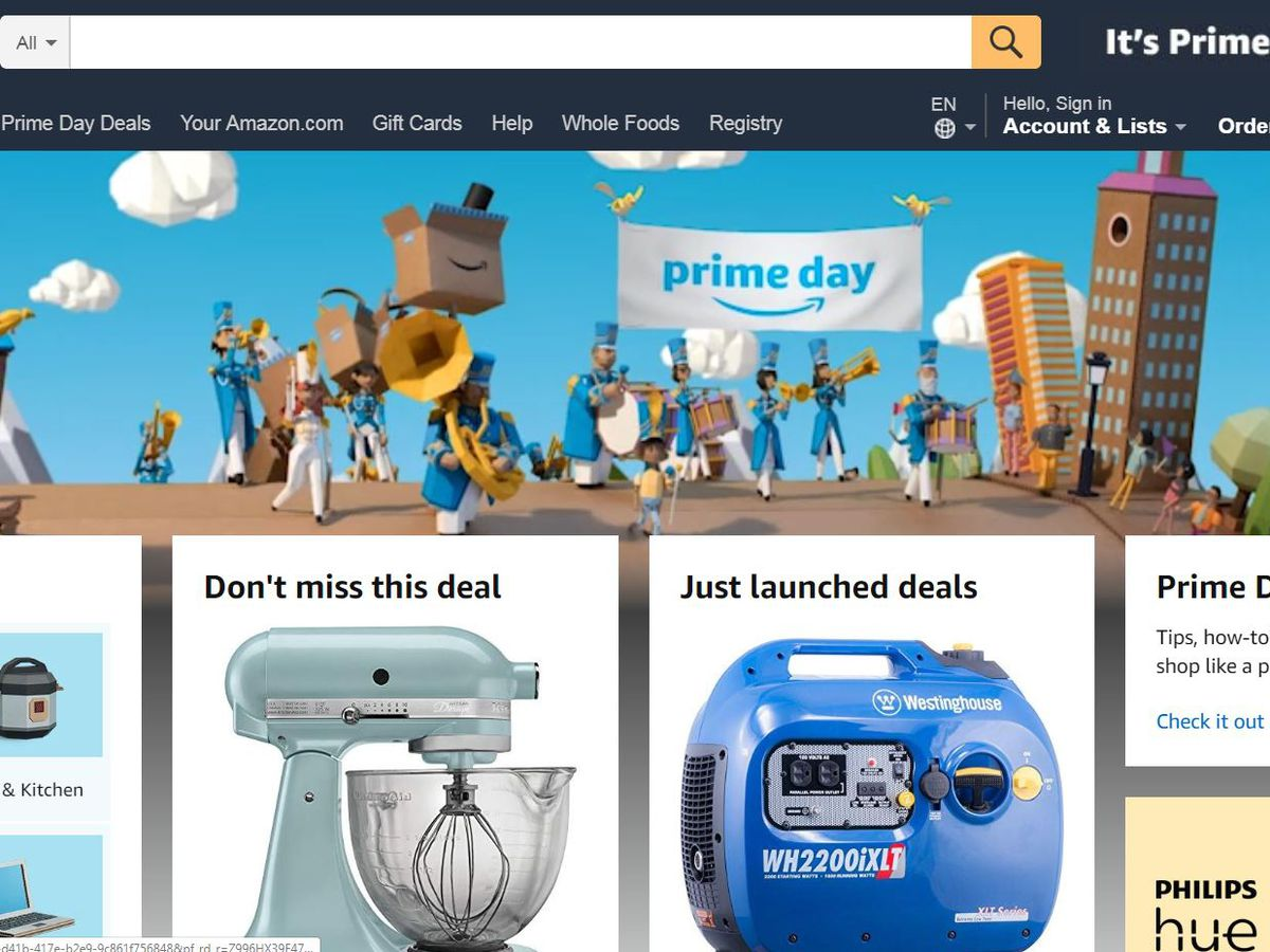 Amazon Prime Day is like a virtual garage sale so websites are helping you find the deals