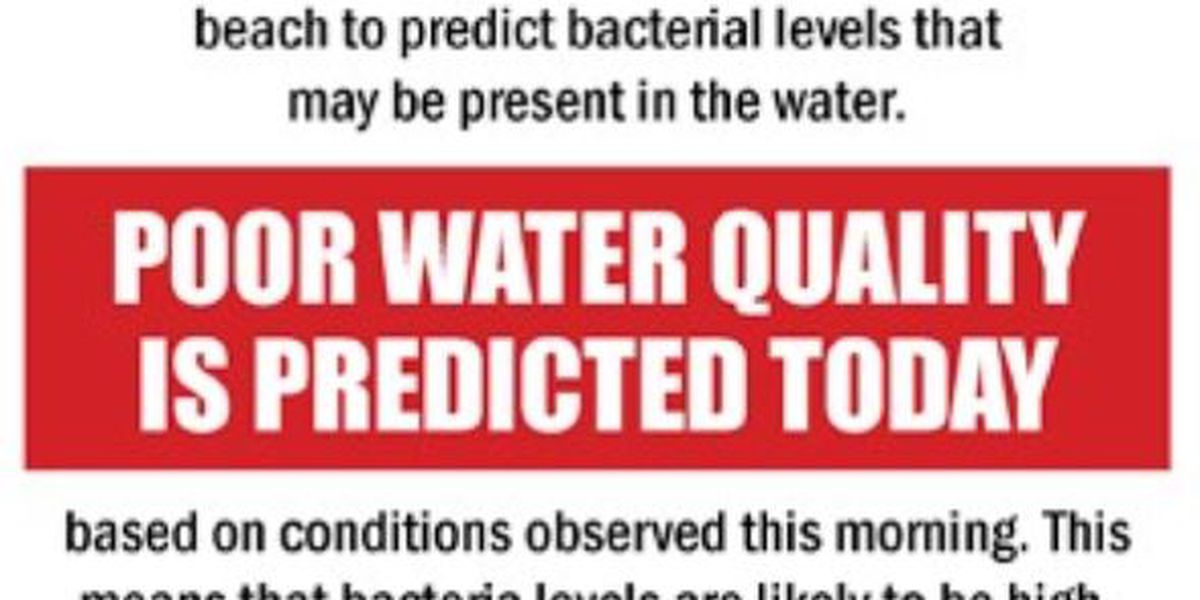"""4,500 athletes about to jump into Lake Erie at Edgewater where the water quality level today is """"poor"""""""