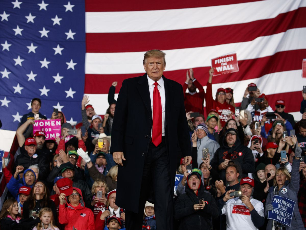 President Trump at Ohio rally: 'Robert E. Lee was a great general'