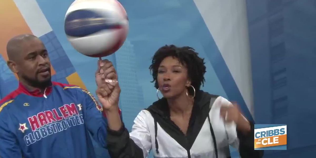 Harlem Globetrotters in Cleveland: Who's got the ball skills Josh or Maria?
