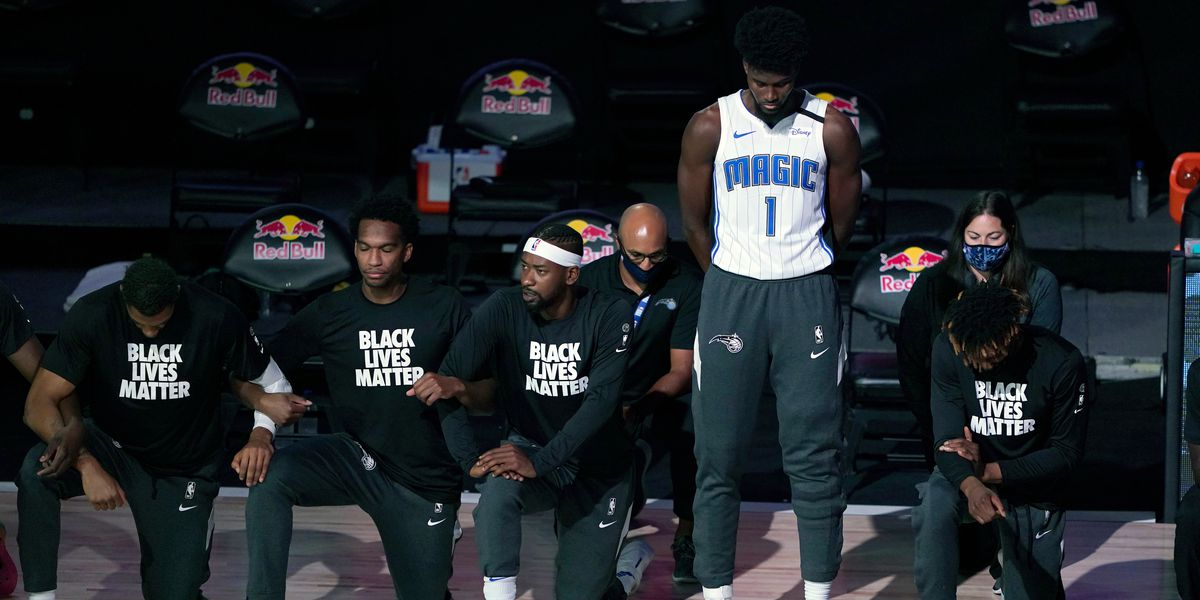 Magic's Jonathan Isaac is lone player to stand for anthem
