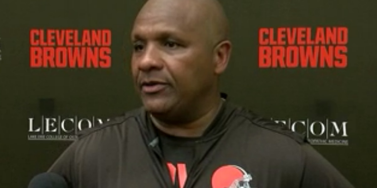 Browns coach Hue Jackson says NFL players have faced unfair scrutiny for protesting the national anthem