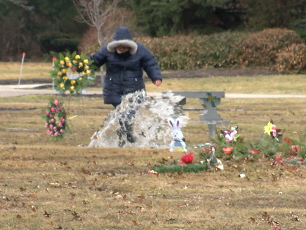 Embattled Avon cemetery promises to put out plan for fixing flooded grounds