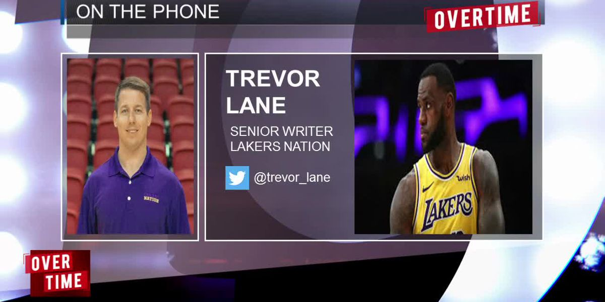 Trevor Lane of Lakers Nation stops by to analyze the state of LeBron James' new-look Lakers.