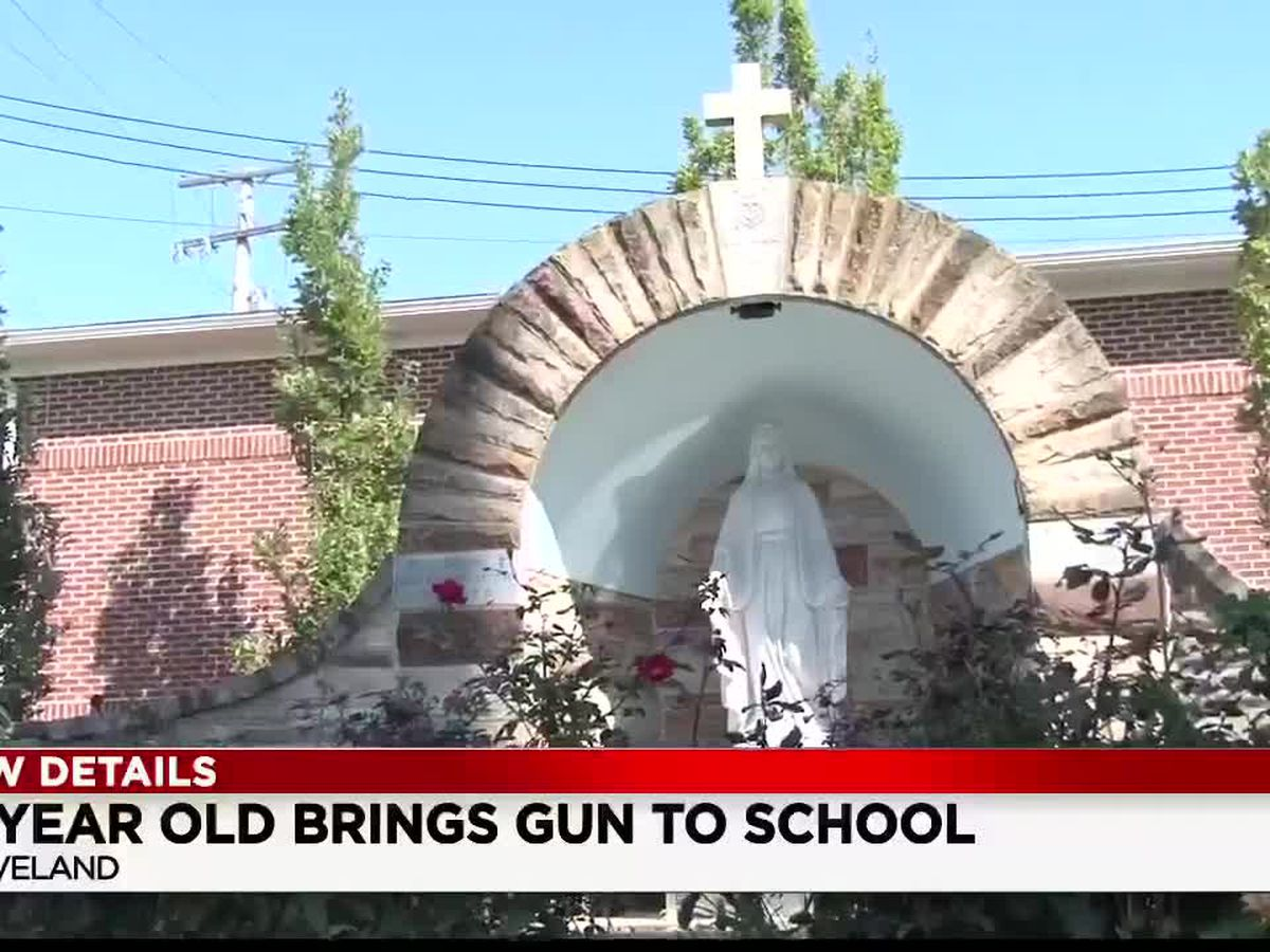 12-year-old girl shocked to find a gun in her backpack at school