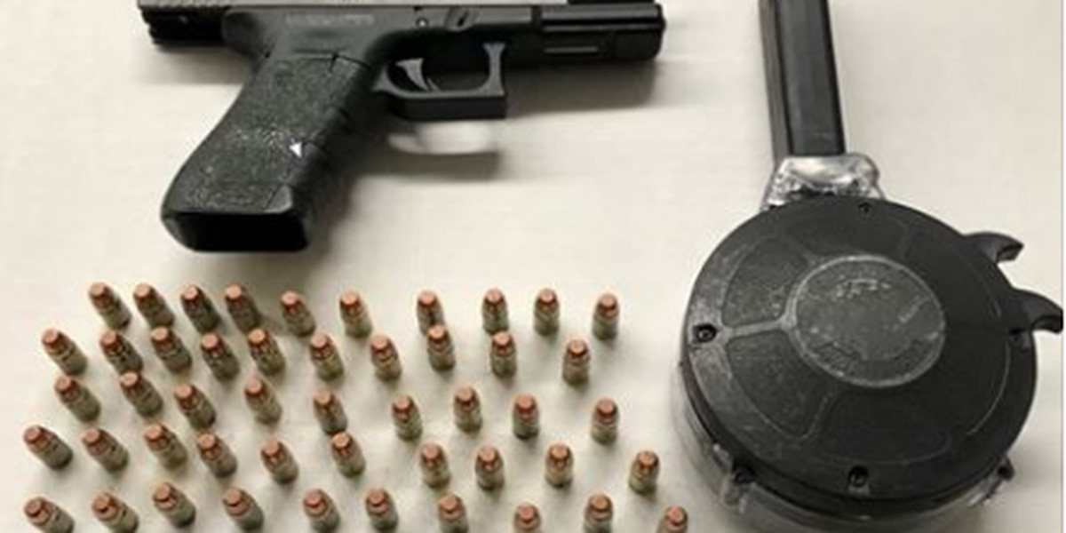 Police find 95 rounds of ammunition in a vehicle, Cleveland felon arrested