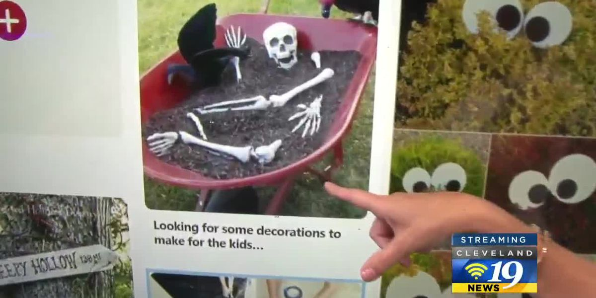 Compete with your neighbors using these novel and creepy Halloween decorations: Pinteresting
