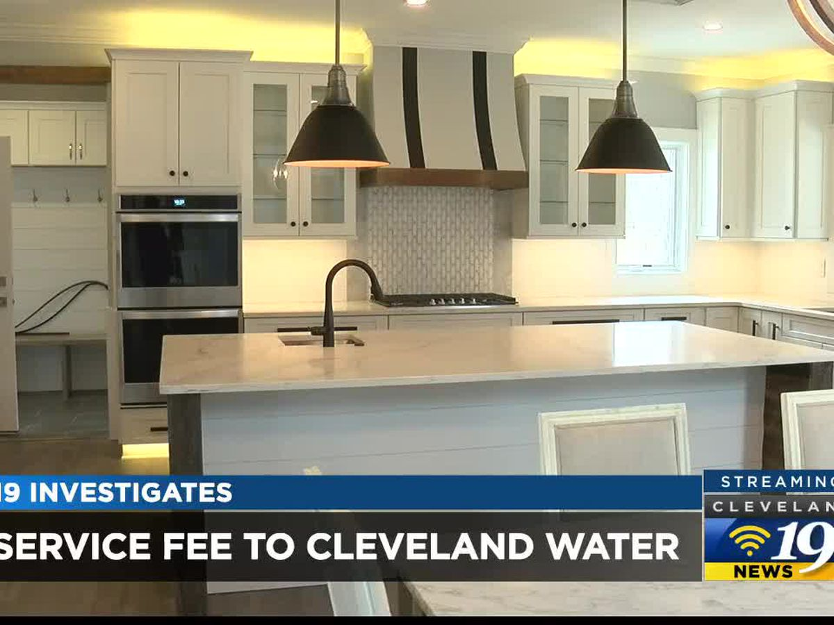 Why should builders pay Cleveland Water Department fee for empty lots?