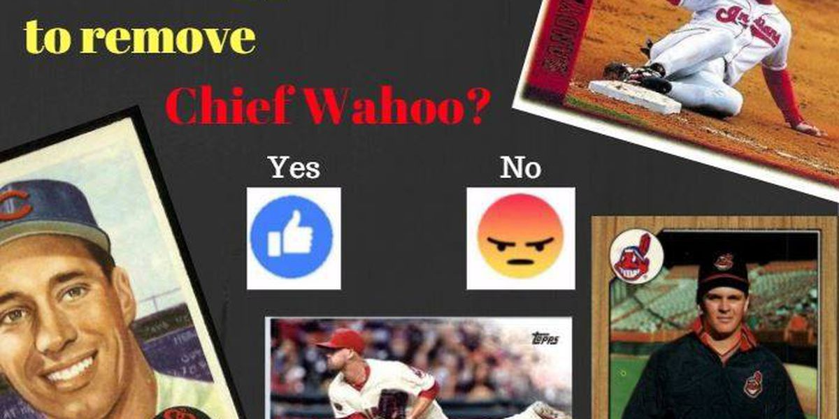 Topps says Chief Wahoo gone on baseball cards because it isn't primary logo