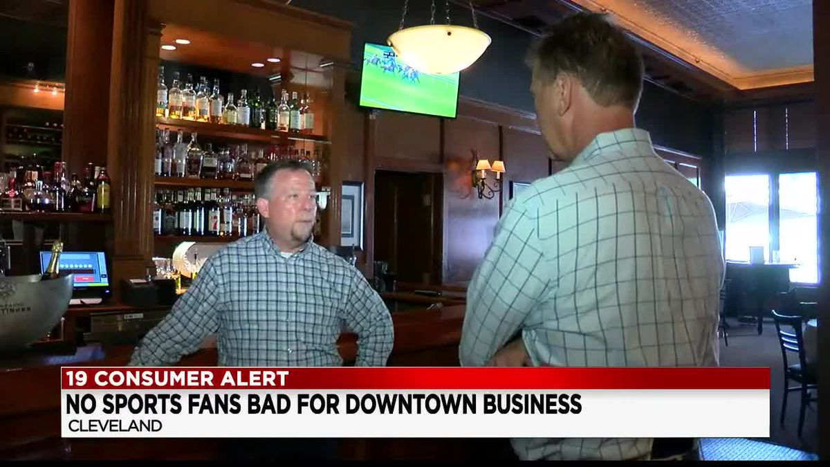 Limited capacity for Cleveland Browns games means another hit for downtown restaurants and bars