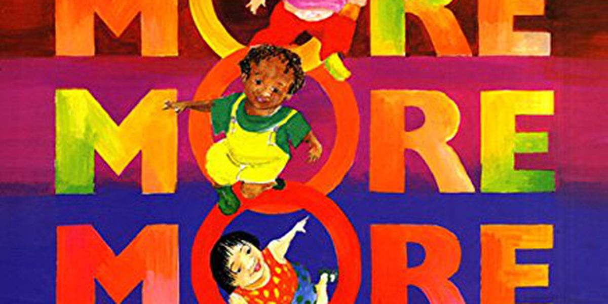 On Tuesday's Story Time with Jamie Sullivan, we're reading 'More more more, said the baby'